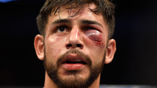 UFC 211: Panteres i anacondes, gàngsters i bombers