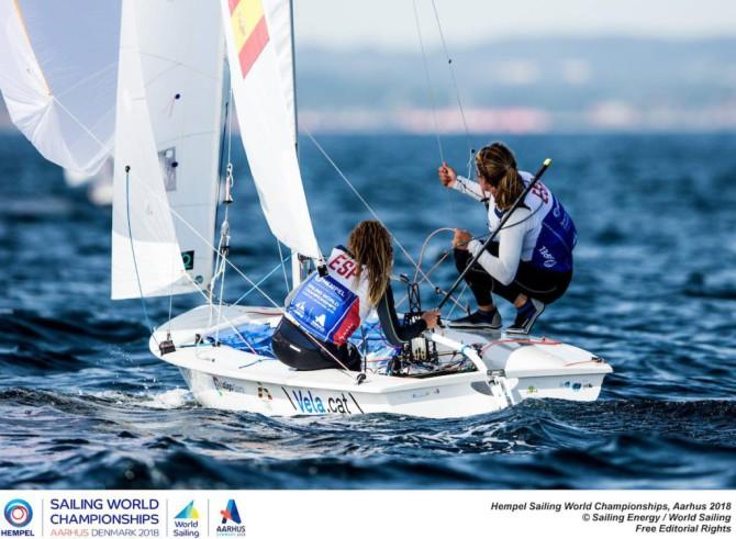 Sílvia Mas i Jordi Xammar, medallistes al mundial de 470