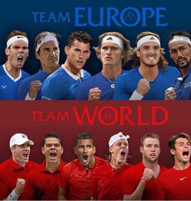 Europa, favorita a 'la Ryder del tennis'